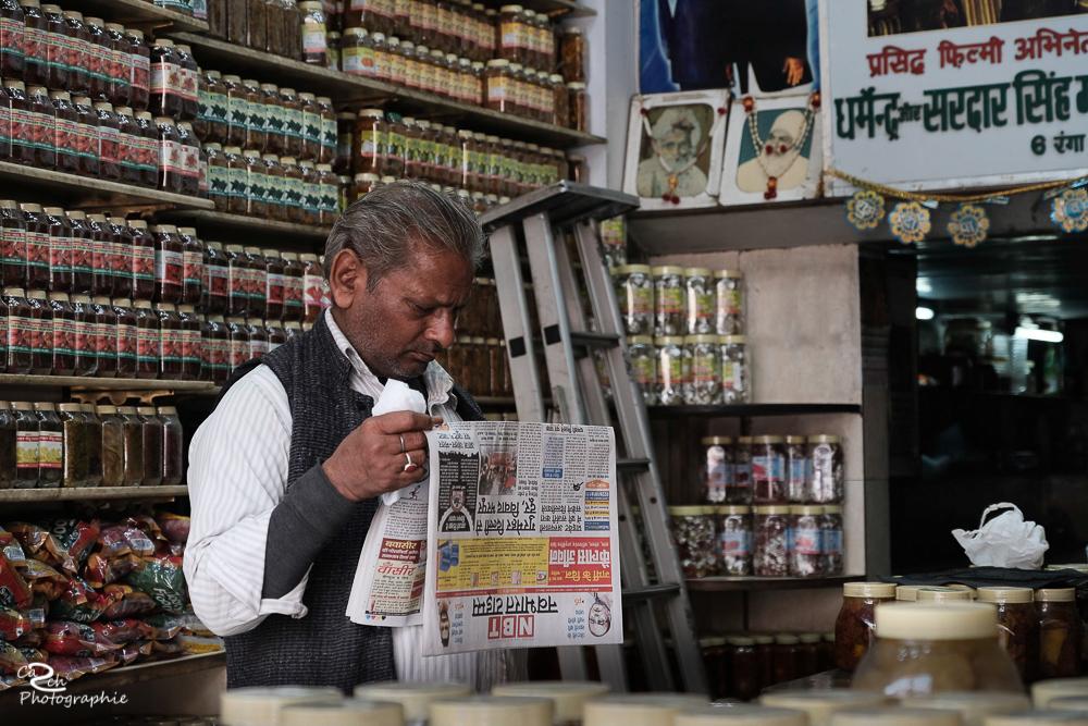 Ladenbesitzer Indien Carsten Schröder Fotografie